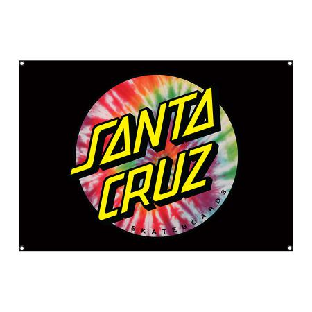 Santa Cruz Beach Towel Red Dot