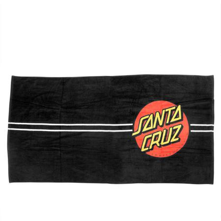 Santa Cruz Beach Towel Red Dot