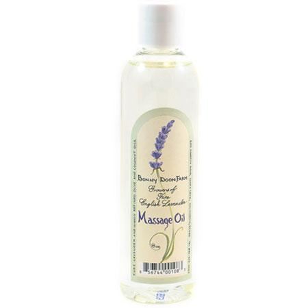 bonny doon farm lavender massage oil