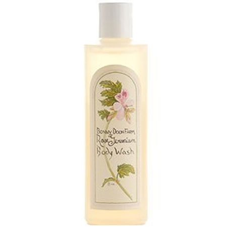bonny doon farm rose geranium body wash