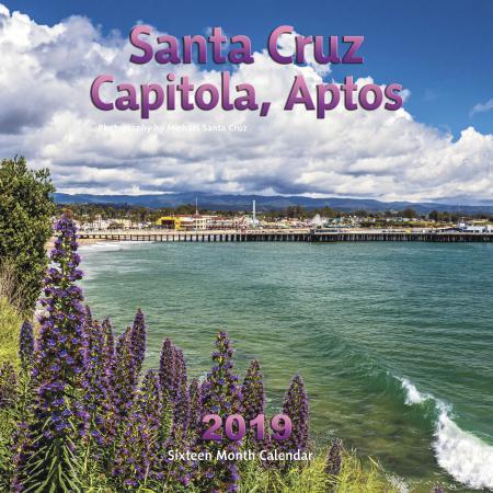 2019 Calendar Santa Cruz, Capitola, Aptos
