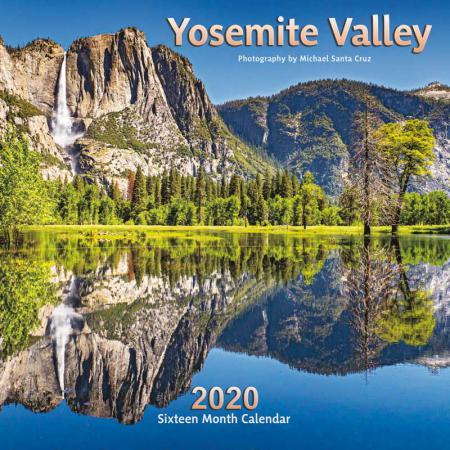 2020 Calendar Yosemite