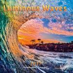 2017 santa cruz calendar, luminous waves calendars