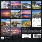 2019 Calendar California Coast