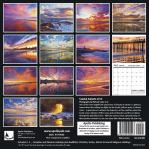 2019 Calendar Coastal Sunsets