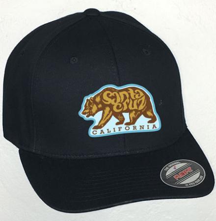 santa cruz bear hat by tim ward