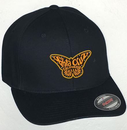 Santa Cruz Monarch Butterfly Hat by Tim Ward