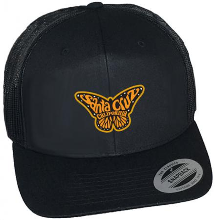 Santa Cruz Monarch Butterfly Hat by Tim Ward