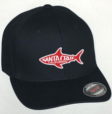 santa cruz shark hat by tim ward