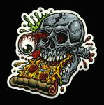 pizza skull sticker jimbo phillips