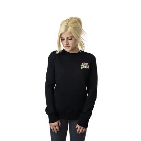 Womens Sweatshirt Crewneck Santa Cruz Victorian (Black) bcb9f9a6e