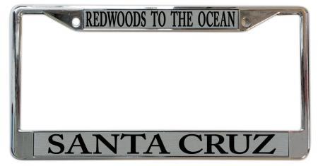 Santa Cruz Redwoods License Plate Frame