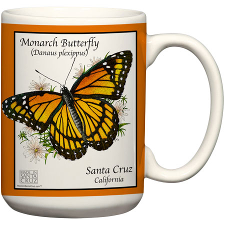 Mug Santa Cruz Monarch Butterfly
