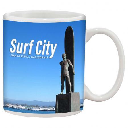 Mug Santa Cruz Surf City Surfer Statue