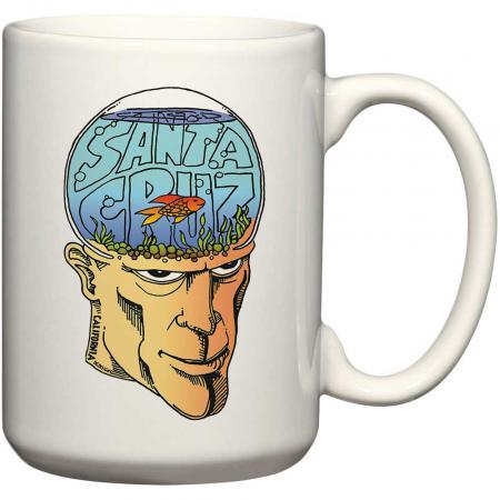 santa cruz fish bowl head mug dustin graham