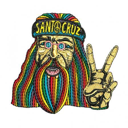santa cruz patch hippie dude
