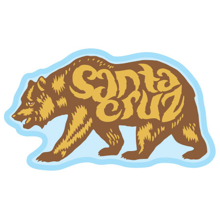 tim ward patch santa cruz bear