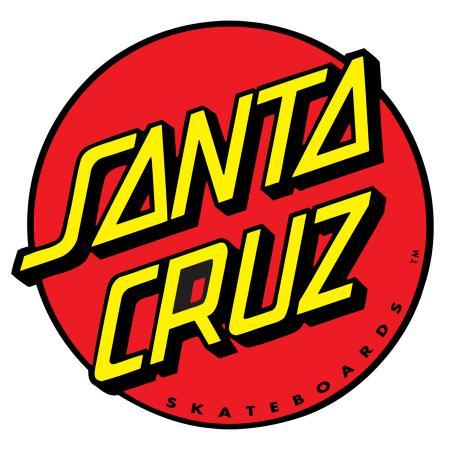 Santa Cruz Classic Dot Red Decal Sticker
