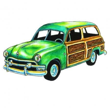 Decal Santa Cruz Woodie Woody Sticker