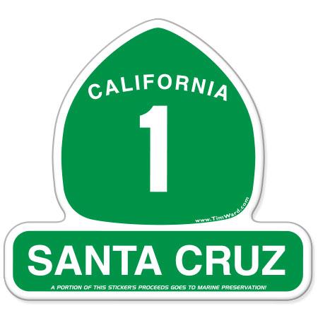 santa cruz highway 1 magnet tim ward