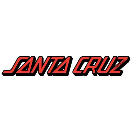 Santa Cruz Strip Sticker Decal