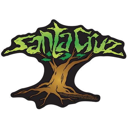 Santa Cruz Sticker Tim Ward Cypress Tree