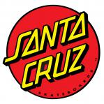Santa Cruz Classic Dot Red Decal Sticker