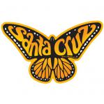 santa cruz monarch butterfly sticker decal by tim ward life at sea