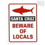 Santa Cruz Sticker Tim Ward