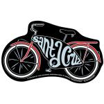 Santa Cruz Sticker Tim Ward Bike Cruzer