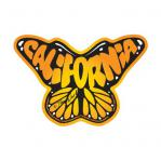 california monarch butterfly sticker decal by tim ward life at sea