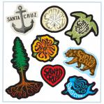 Santa Cruz Mini Sticker Sheet Tim Ward