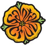 santa cruz sticker poppy tim ward