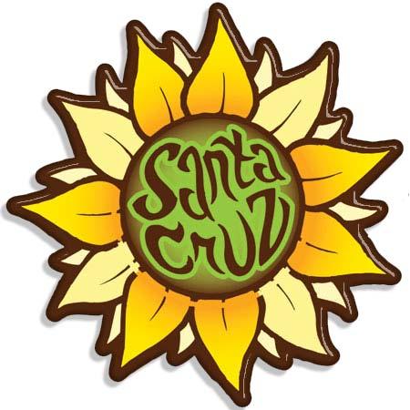 Tim Ward magnet sunflower santa cruz