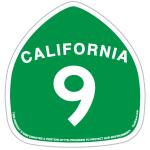 santa cruz california highway 9 green sticker tim ward