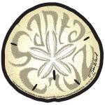 santa cruz sticker sand dollar tim ward