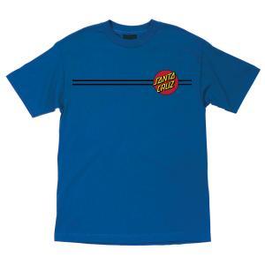 Santa Cruz Classic Dot Tshirt Harbor Blue