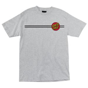 Santa Cruz Classic Dot Tshirt Heather Grey