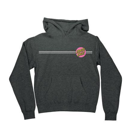 Girls Santa Cruz Pink Dot Sweatshirt Hoodie Hoody