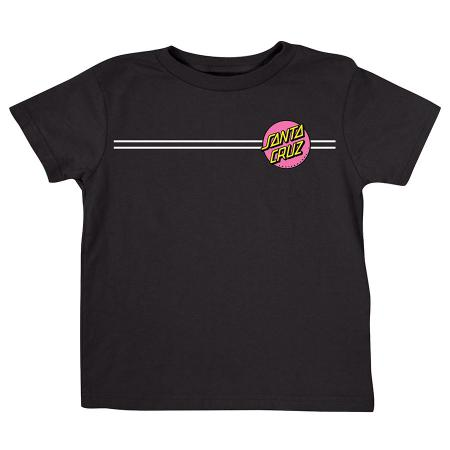 kids pink dot santa cruz t-shirt