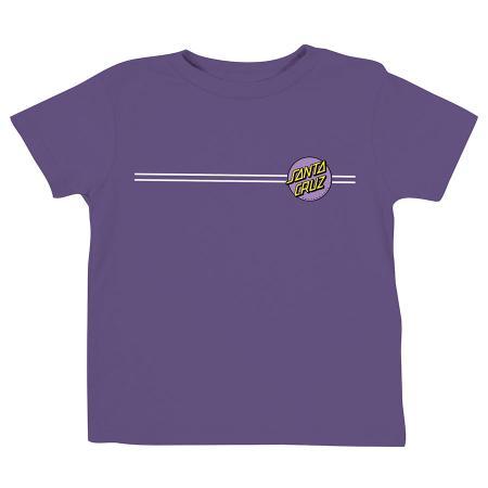 kids pink dot santa cruz t-shirt