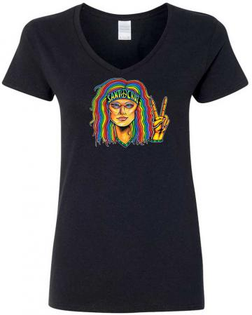 santa cruz hippie t-shirt
