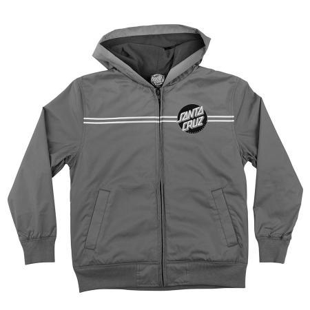 santa cruz youth windbreaker jacket