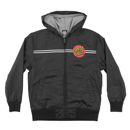 santa cruz youth windbreaker jacket