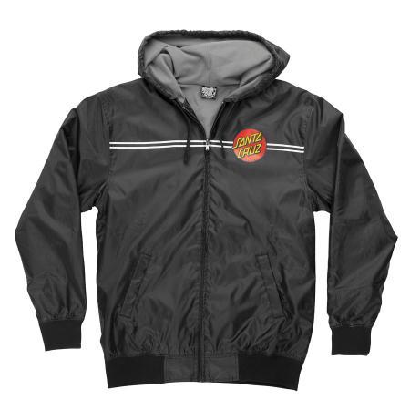 windbreaker, jacket, classic dot