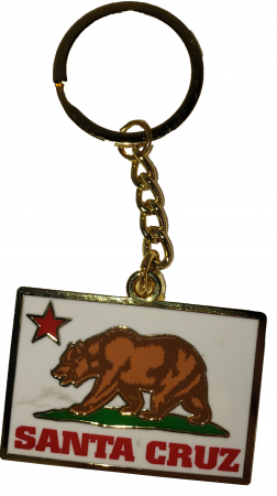 santa cruz bear keychain tim ward
