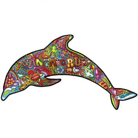 Santa Cruz sticker psy dolphin dustin graham