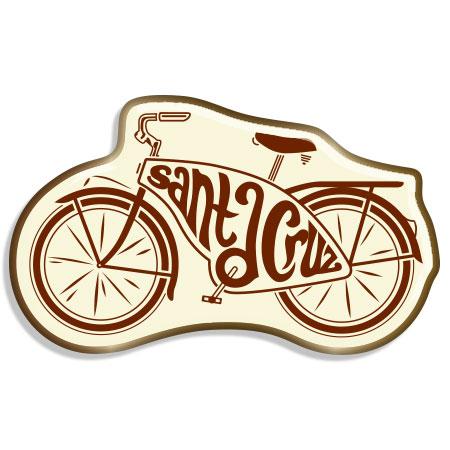 tim ward santa cruz bike cruiser pin