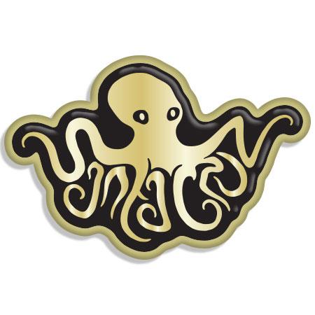 tim ward keychain santa cruz octopus