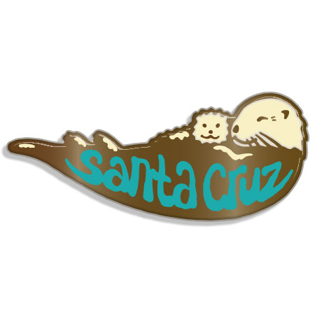 Tim Ward Santa Cruz Otter pin